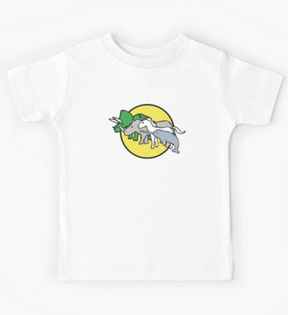 Horned Warrior Friends Kids Tee