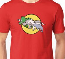 Horned Warrior Friends Unisex T-Shirt