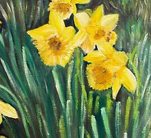 Daffodils by Monika Howarth