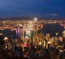The City Under My Feet - Hong Kong by Alfred Tang