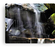 Under the Water Fall Canvas Print
