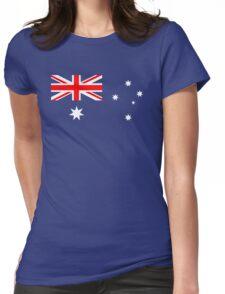 Australian Flag Womens Fitted T-Shirt