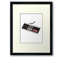 Nintendo Retro Framed Print