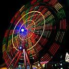 Ferris Wheel in Motion - Luna Park, Sydney by TonyCrehan