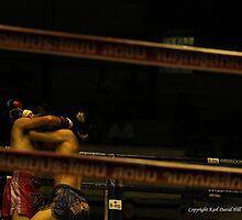 muay thai 004 by Karl David Hill