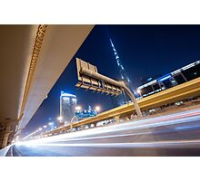 Financial Road Photographic Print