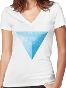 The Big Sleep - SXSW 2012 Women's Fitted V-Neck T-Shirt