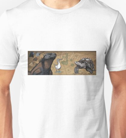 Galapagos species Unisex T-Shirt