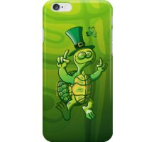 Saint Patrick's Day Turtle iPhone Case/Skin
