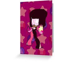 Weeny Gems- Garnet Greeting Card
