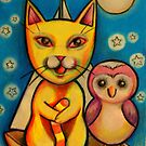 The Owl and The Pussycat by kimbaross