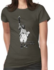 War On Tourism Womens Fitted T-Shirt