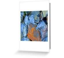 Blue Rocks 2 Greeting Card