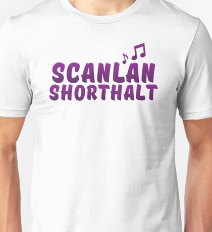 Critical Role - Scanlan Shorthalt (Character Names) Unisex T-Shirt