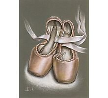 Pointe shoes Photographic Print