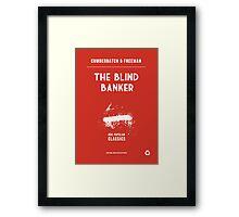 BBC Sherlock - The Blind Banker Minimalist Framed Print