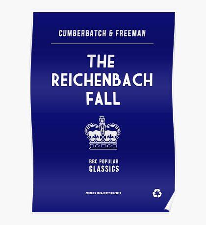 BBC Sherlock - The Reichenbach Fall Minimalist Poster