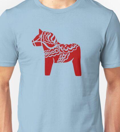 dalahast dala horse toy sweden Unisex T-Shirt