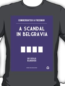 BBC Sherlock - A Scandal in Belgravia Minimalist T-Shirt