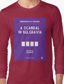 BBC Sherlock - A Scandal in Belgravia Minimalist Long Sleeve T-Shirt