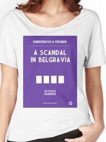 BBC Sherlock - A Scandal in Belgravia Minimalist Women's Relaxed Fit T-Shirt