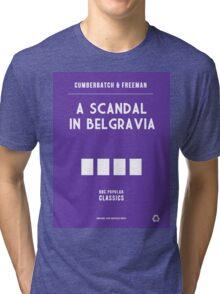 BBC Sherlock - A Scandal in Belgravia Minimalist Tri-blend T-Shirt