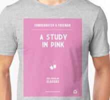 BBC Sherlock - A Study in Pink Minimalist Unisex T-Shirt