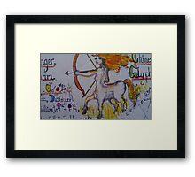 Sagitarius Fairie Framed Print