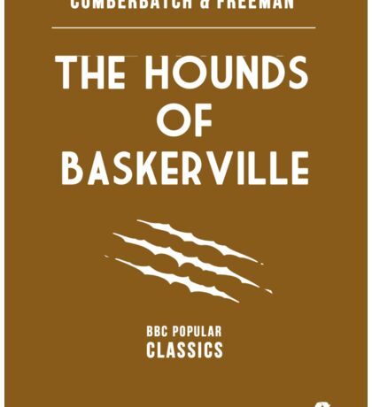 BBC Sherlock - The Hounds of Baskerville Minimalist Sticker