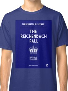 BBC Sherlock - The Reichenbach Fall Minimalist Classic T-Shirt