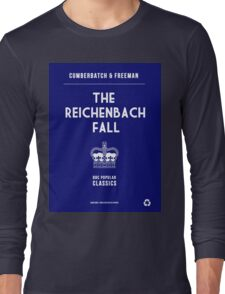 BBC Sherlock - The Reichenbach Fall Minimalist Long Sleeve T-Shirt