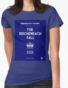 BBC Sherlock - The Reichenbach Fall Minimalist Womens Fitted T-Shirt