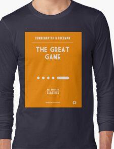 BBC Sherlock - The Great Game Minimalist Long Sleeve T-Shirt