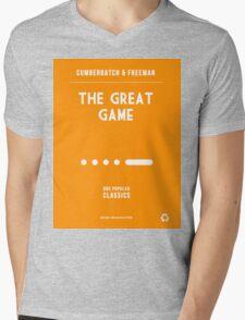 BBC Sherlock - The Great Game Minimalist Mens V-Neck T-Shirt