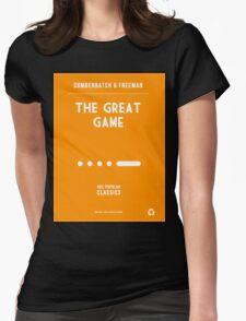 BBC Sherlock - The Great Game Minimalist Womens Fitted T-Shirt