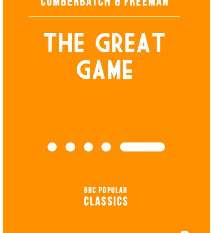 BBC Sherlock - The Great Game Minimalist Sticker