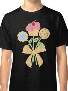 Cookies cupcake flower bouquet bow t-shirt Classic T-Shirt
