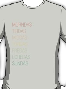Skyrim Days T-Shirt