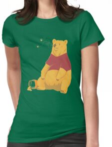 Pooh at the Zoo Womens Fitted T-Shirt