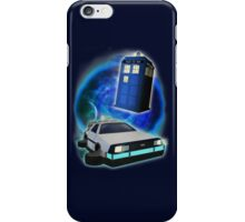 Race against time! iPhone Case/Skin