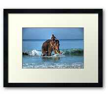 Meet Rajan Framed Print