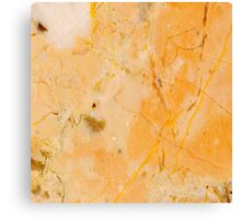 Yellow Marble Canvas Print
