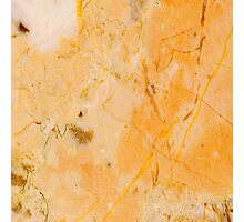 Yellow Marble Photographic Print