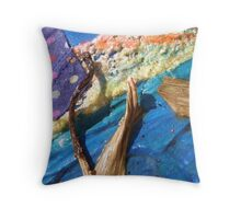 WILD WEST PANTS PARTY *party in the surf 10 'pear stem masts' Throw Pillow