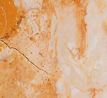 Orange Marble by rcurtiss000