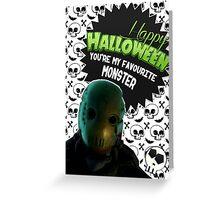 Halloween Villain League [Teen Wolf's Dread Doctor] Greeting Card