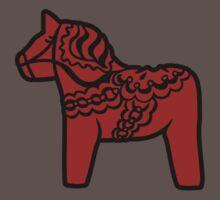 dalahast dala horse toy sweden by huggymauve