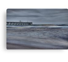 Stormy Morning (HDR) Canvas Print