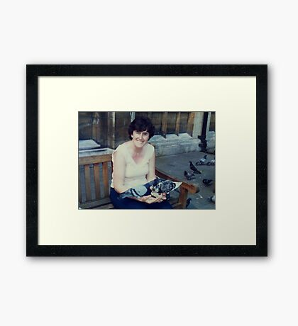 Yours Truly 1985 Framed Print