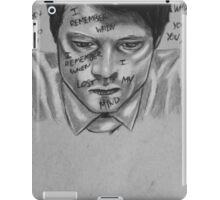 Really Think That You're In Control? iPad Case/Skin